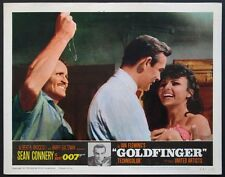 GOLDFINGER SEAN CONNERY JAMES BOND 1964 LOBBY CARD #7