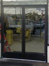 ADA COMPLIANT COMMERCIAL ALUMINUM STOREFRONT DOORS TO ACCEPT INSULATED GLASS