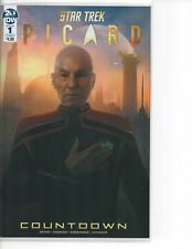 STAR TREK PICARD COUNTDOWN 1 COVER A SOLD OUT IDW COMICS NM