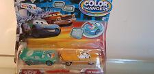 Disney Pixar CARS film couleur Changers DINOCO LIGHTNING McQUEEN & TEX DINOCO!