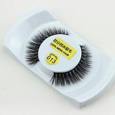 Long Manual Black Luxurious Real Mink Long Natural Thick Eye Lashes False Eyelas