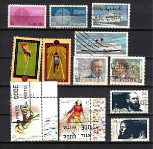 GROUP OF 2 STAMPS SETS  USED  B-370