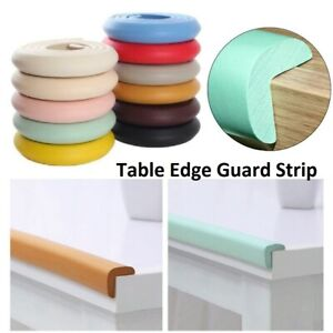 Protection Foam Bumper Baby Safety Table Edge Desk Corner Protector Guard Strips
