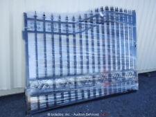 Greatbear 20' Wrought Iron Style Ornamental Bi-Parting Steel Gate bidadoo -New