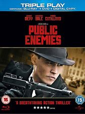 Public Enemies (Blu-ray and DVD Combo, 3-Disc Set) Brand new and sealed