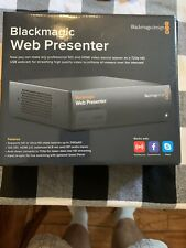 Blackmagic Design Web Presenter Live Converter