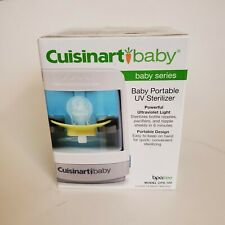 Cuisinart-Baby Series Portable UV Pacifier/Bottle Nipple Sterilizer BPA FREE