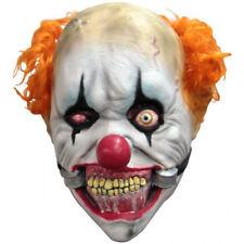 Clown Smiley Junior Full Head Latex Mask Halloween Fancy Dress Child Size