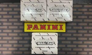 2018 world cup panini prizm fat pack 3 sealed box LOT(3)