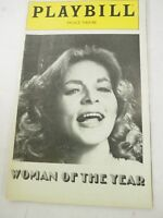 Woman of the Year 1981 Elizabeth Taylor Playbill Palace Theatre program