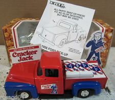 1956 Ford Pick-Up Truck Cracker Jack Popcorn Die-Cast Metal Bank 1:25 ERTL NEW