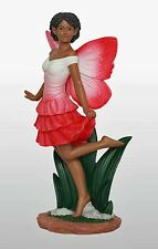 Fairy Dance in Red African American New 9.5 Inches Tall 17420)