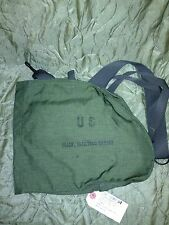 GENUINE US MILITARY GAS MASK CARRYING MESSENGER SLING SATCHEL COURIER BAG NWT