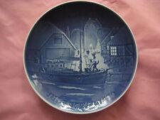 Original Jahresteller Copenhagen Porcelain 1976-Cristmas Welcome,made in Denmark