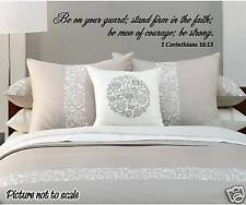 custom interior WALL DECAL your favorite bible verse