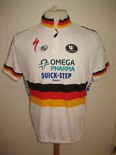 Omega Pharma Quick step Tony MARTIN jersey shirt cycling maillot trikot size XL