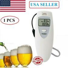 Mini LCD Police Digital Breath Alcohol Tester Breathalyzer Monitor Detector