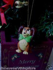 DISNEY MICKEY PETSHOP FIFI MINNIE MOUSE DOG CUSTOM CHRISTMAS ORNAMENT NEW