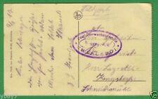 Erster Weltkrieg (1914-18) Feldpostkarte Echtfotos aus Belgien