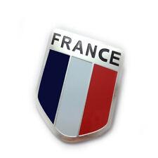 UK Italy France US Flag Logo Metal Car Motorcycle Stickers Tail Emblem universal