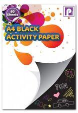 Pennine A4 Black Activity Paper (60shts)