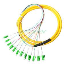 12 Strand 9/125 Fiber Optic Pigtails 1.5m LC/APC Single Mode