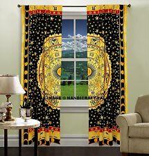 Baumwolle Vorhang Astrologie Horoskop Mandala Indischen Fenster Vorhang zu werfe