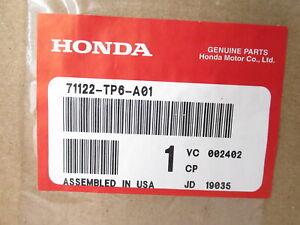 Genuine OEM Honda 71122-TP6-A01 Front Upper Grille Trim Molding