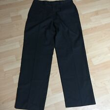 NEW Haggar Men's Dress Suit Up System Custom Fit Pants Black Pinstripe 34W 32L