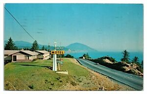 1960s Sea Crest Motel, Port Orford, OR Postcard *6S(3)28