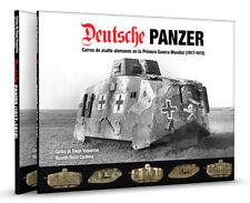 Abteilung 502 ABT 720 Deutsche Panzer German Tanks in WWI