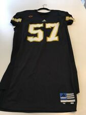 Game Worn Used Army Black Knights Football Jersey #57 Size 48