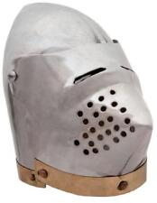 Miniature Pig Face Medieval Helmet and Stand    - New in Box
