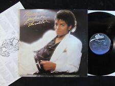 MICHAEL JACKSON Thriller US ORIGINAL LP QE-38112/INNER Billie Jean/Beat It