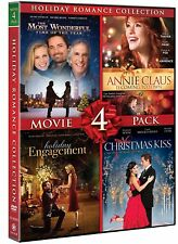 Annie Claus Is Coming To Town + 3 Christmas Movies Hallmark holiday Romance Coll