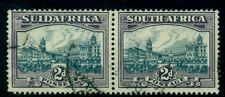 SOUTH AFRICA #37 Government Buildings, pair, used, VF, Scott $100.00