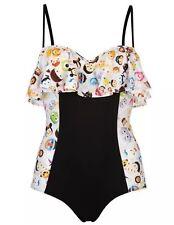 Size 14 Tsum Tsum Swimming Costume Kawaii Frill Disney Cute Goth Gothic Stitch