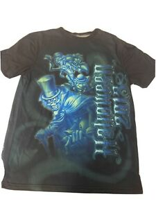 Disney Parks Haunted Mansion Shirt Medium M Halloween 2013 Hitchhiking Ghosts