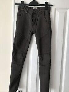 Zara Kids Washed Grey Jeans Size 9 Years