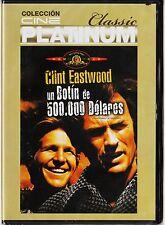 cine platinum classic: UN BOTÍN DE 500.000 DÓLARES con Clint Eastwood Ed diarios