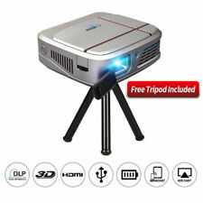 New listing Full Hd Dlp Projector WiFi Wirelessly Mirror Screen Home 3D Movie Conference Usb