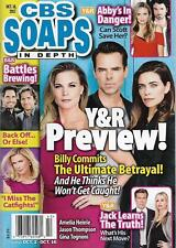 CBS Soaps In Depth Magazine - October 16, 2017 - Young & the Restless Preview