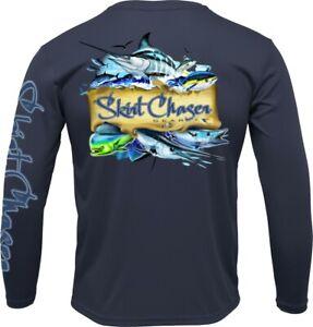 Men's Long Sleeve Pelagic Series UPF 50+ Microfiber Performance Fishing Shirt