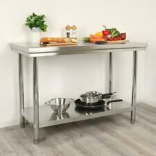 Wido 2ft x 4ft Stainless Steel Catering Table