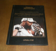 STEELERS SUPER BOWL XL CHAMPIONS SPORTS ILLUSTRATED BOOK - LIMITED ISSUE