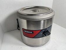 Nemco 6100a Soup Kettle 7 Qt Round Warmer Commercial Restauraunt