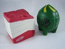 Nerf Zombie Strike Z Bombz Foam Grenade and Brick Set