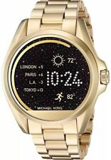 Michael Kors Women's Access Bradshaw Digital Gold Steel Smart Watch MKT5001
