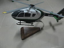 Eurocopter EC-135 Promedica Air Helicopter Wood Model