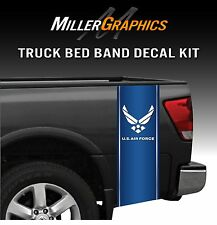 US Air Force Military Truck Bed Band Decal Graphic Sticker Kit